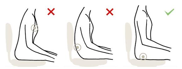Recomendaciones para una buena postura al trabajar y for Sillas para una buena postura